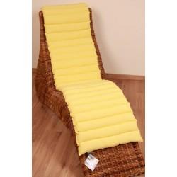 Sedák Fine 45x200cm - světle žlutá