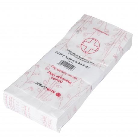 Papírové hygienické sáčky .,100ks / bal.