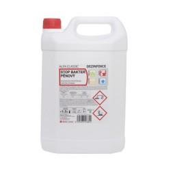 STOP BAKTER PĚNOVÝ, 5l, desinfekční a čisticí prostředek