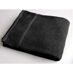 Osuška 70x130cm 450gr EPONGE - černá
