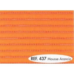 Koupelnová předložka - soft - oranžová - šíře 65cm
