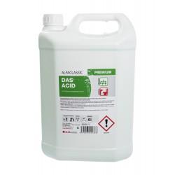 DAS ACID PREMIUM, 5 l, kyselý čisticí prostředek na podlahy