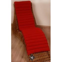 Sedák Fine 45x200cm - červená
