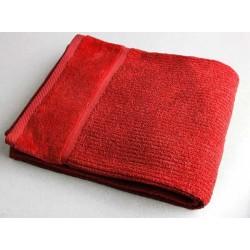 Ručník 50x90cm 450gr EPONGE - červená