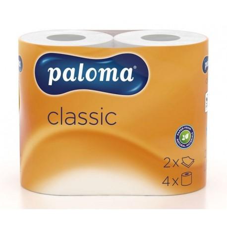 Toaetní papír Paloma BASIC , 2vrst.bílý, bal. 64ks