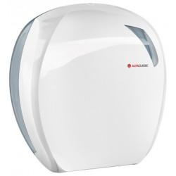 Zásobník toaletního papíru role, pr. až 260 mm, bílý plast ,907 Linea